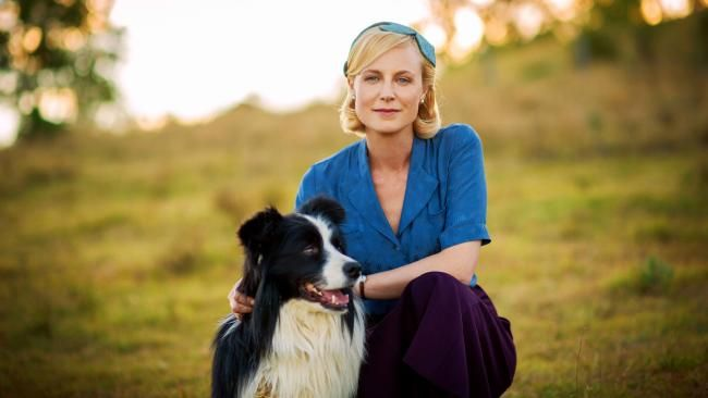 Marta Dusseldorp as Sarah in A Place to Call Home