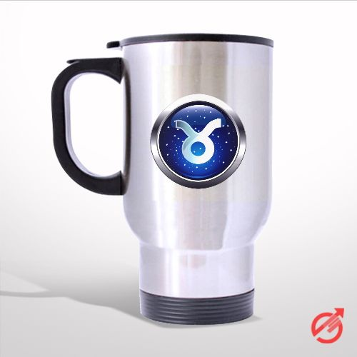 Zodiac Taurus Travel Mug