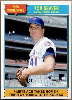 WHEN TOPPS HAD (BASE)BALLS!: HIGHLIGHTS FROM THE 1970'S: TOM SEAVER MATCHES KOU...