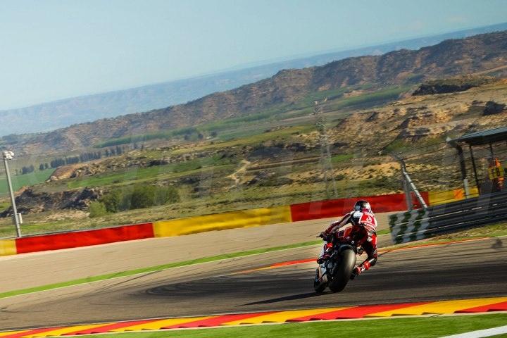 Carlos Checa - Team Ducati Alstare - Round Aragon WSBK 2013