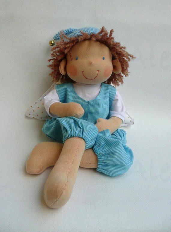 Angel Waldorf boy doll READY TO SHIP Angel doll Rag doll