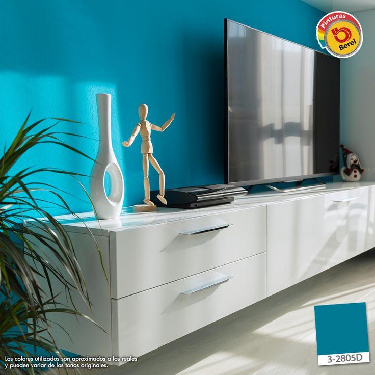 Atrévete a utilizar colores intensos en tu hogar! #Berel #Decoracion #Color