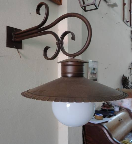 Arandela Chuveirão - Arte em Ferro - Ca114 R$300,00