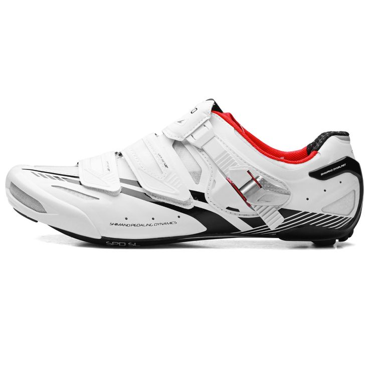 Shimano SH-R320 Road Shoes White; my weapon of choice.