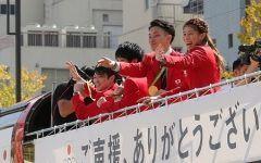 リオデジャネイロオリンピックパラリンピック選手団合同の凱旋パレードが銀座で行われましたね 多くの人で賑わっていたようですね() 選手団には本当に感動をもらえましたよね 東京オリンピックでも活躍を期待します tags[東京都]