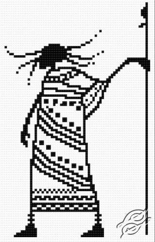 FREE PATTERNS - People - Shaman - Gvello Stitch