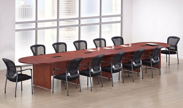 New Amber Racetrack Conference/Boardroom/Meeting Room Office Table
