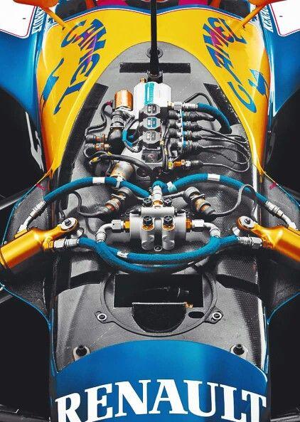 Williams FW14 , dettaglio impianto elettrico