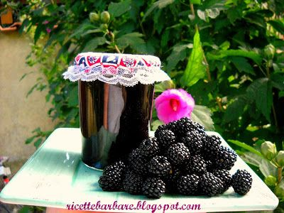 Ricette Barbare: A pot of dewberry jam
