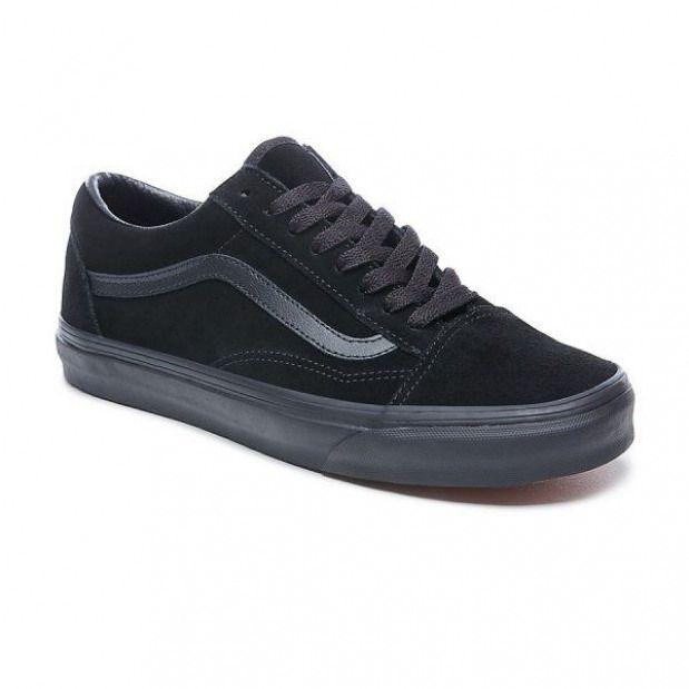 Shoes Vans Old Skool Suede Black Off The Wall Since 1966 Vans Oldschool Allblack Suede Skate Offthewall Vans With Images Vans Old Skool All Black Vans Vans Suede