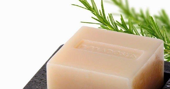 PcD : Receita de sabonete caseiro de alecrim