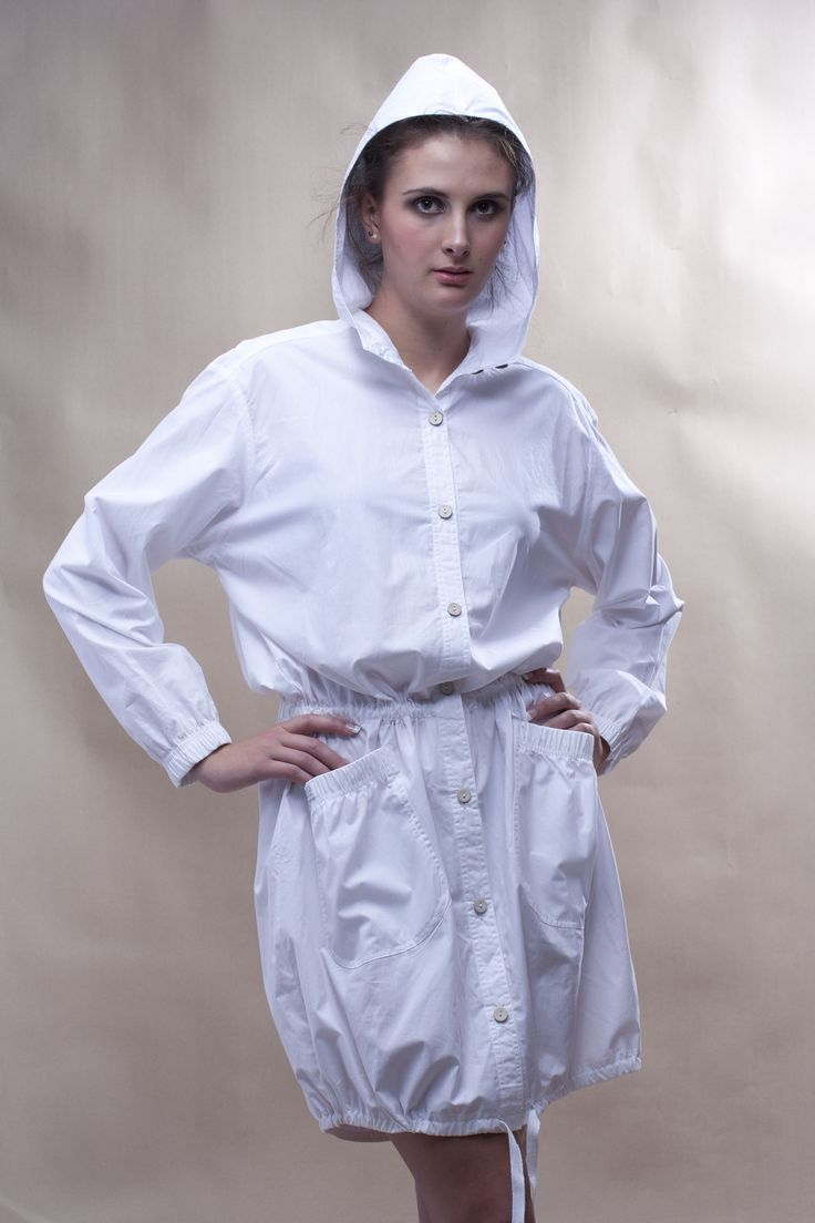 Parka Dress in 100% cotton - WEISS Cape Town