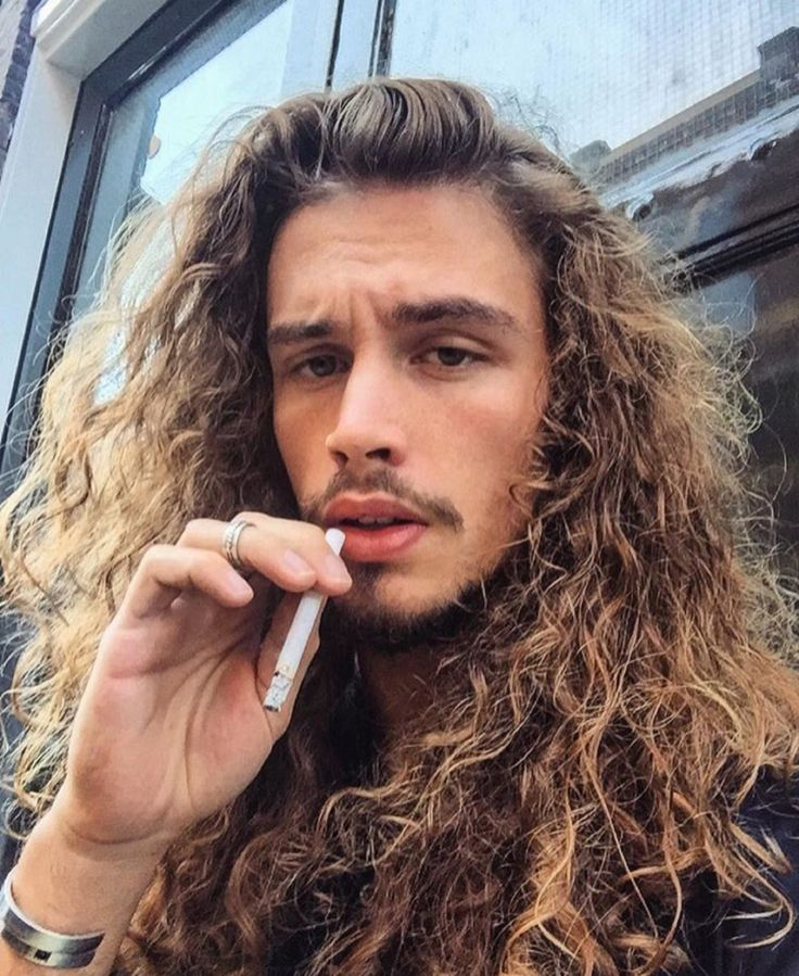 Guyswithlonghair Giaro Garratana Beauty Pinterest