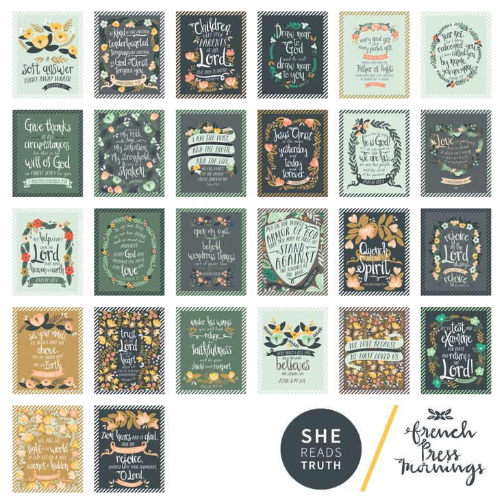 """ABC Scripture Wall Cards 