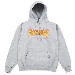 Sweat-shirt Thrasher Flame Grey