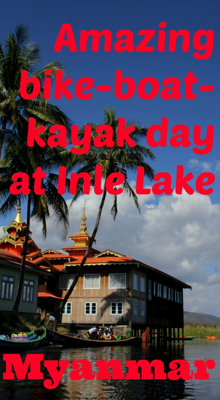 We had an amazing day on our Inle Lake bike tour with Grasshopper Adventures - includes cycling, boat rides, kayaking and delicious Shan food! A family-friendly tour that my daughter and I found very rewarding.