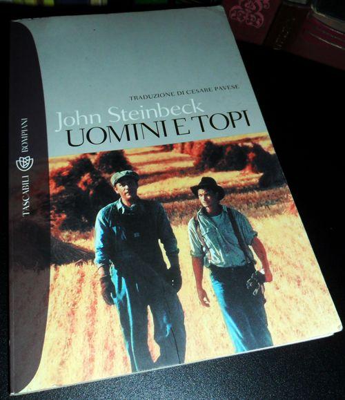 """John Steinbeck, """"Uomini e topi"""" - """"Uomini e topi"""" di Steinbeck: quando un romanzo viene strumentalizzato https://ilriccioelavolpe.wordpress.com/2012/08/31/uomini-e-topi-di-steinbeck-quando-un-romanzo-viene-strumentalizzato/"""