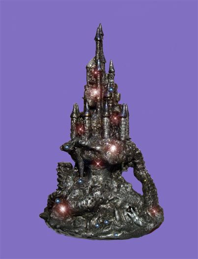 Enchanted Castle. Side view.