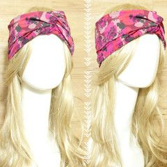 Cherry Blossoms Turban Headband  idr 65,000 or $6.5  FREE ongkir seluruh Indonesia ✈️ shipping worldwide  LINE : reginagarde  shop online www.reginagarde.com