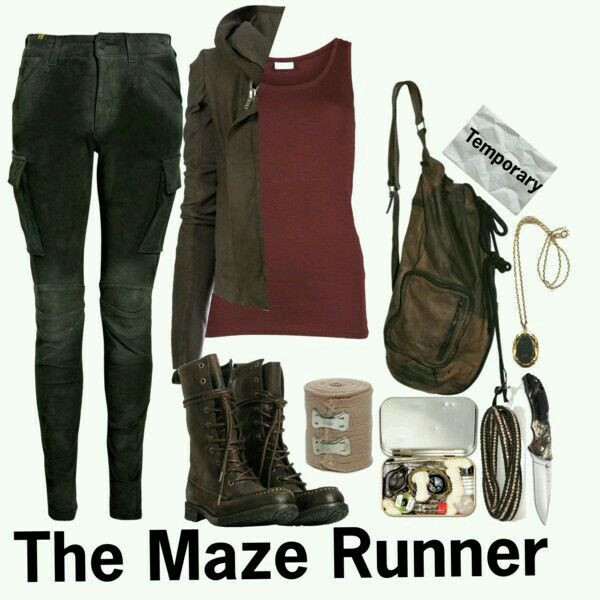 The maze runner look