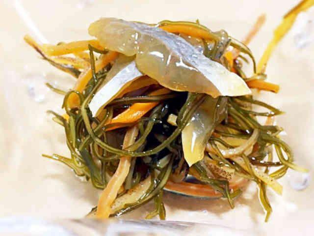 白身魚の松前漬(シロギス、イシモチなど)の画像