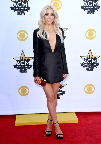 Ashley Monroe attends the 50th Academy Of Country Music Awards at AT&T Stadium on April 19, 2015 in Arlington, Texas.