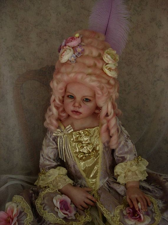 Custom  Made to Order Historical Portrait doll Marie by Anyadolls, $2300.00