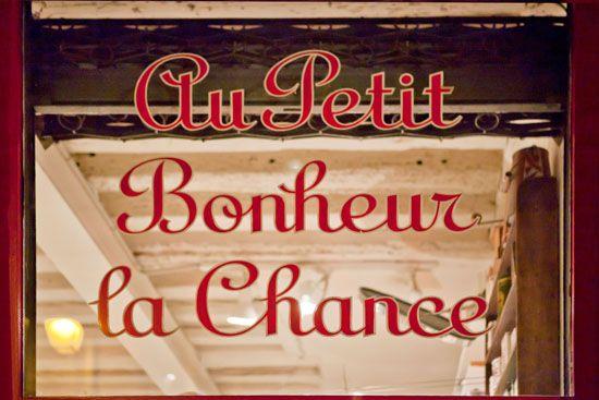 Au Petit Bonheur La Chance