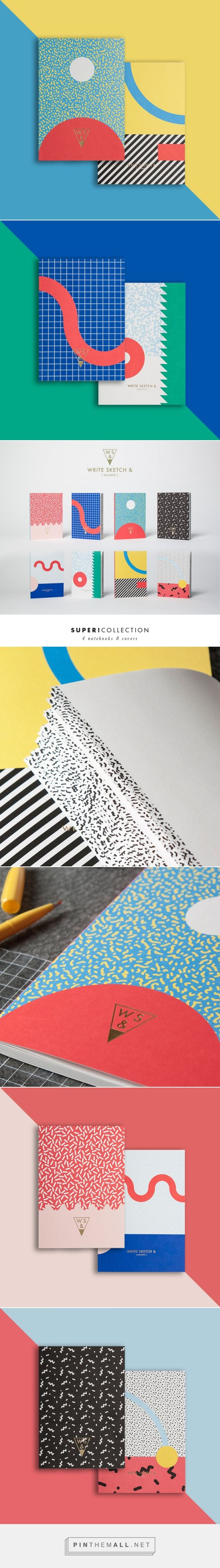 Notebooks. Design by Officemilano.