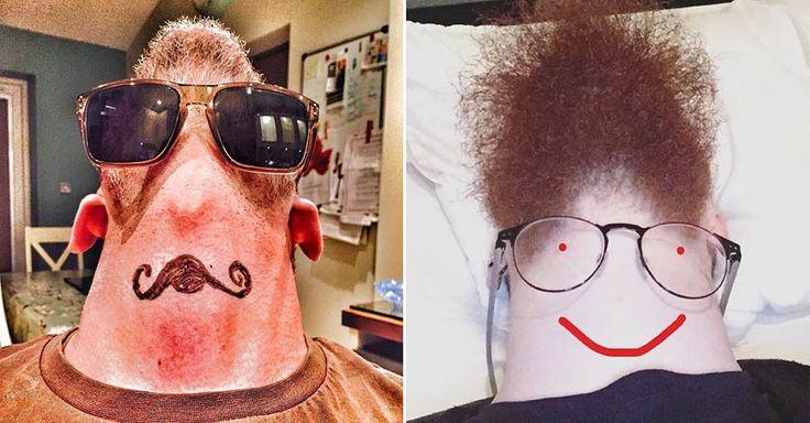 В последнее время в интернете набирает популярность новый флешмоб #beardsfrombelow («Бороды, вид снизу»), где мужички и парни выкладывают фотографии своей шеи и подбородка снизу, иногда добавляя оч…