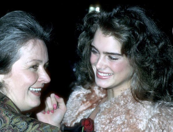 Teri Shields and Brooke Shields