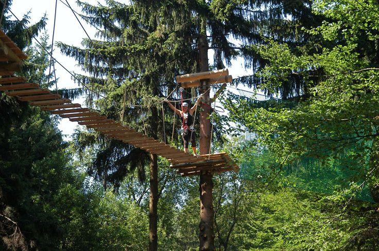 Przeprawa przez Park Linowy: Góra Czantoria