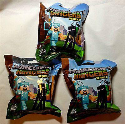 3x-Minecraft-Hangers-Series-2-Single-Blind-Bag-Pack-Random-Keychain-Figure