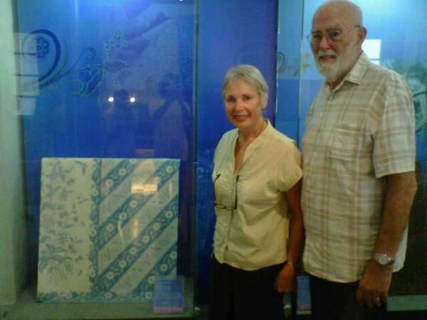 Mrs.Stephanie Belfragie & Mr.George @museumbatik via @megasbtk