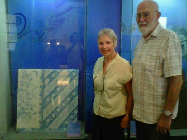 Mrs.Stephanie Belfragie & Mr.George @museumbatik via @megasbtk