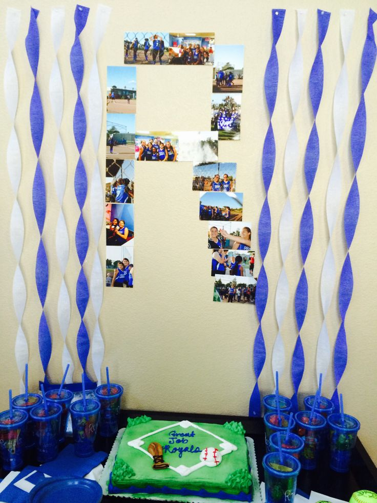 31 Best Softball Party Ideas Images On Pinterest