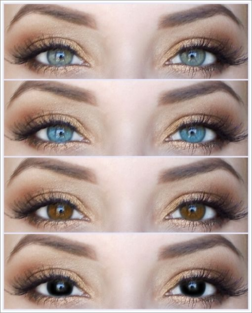 Sunkissed Make-up | Contact lenses | Pinterest