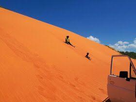 Red sands groote Island Australia