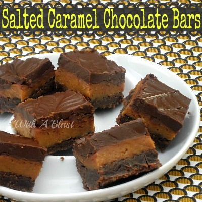 Brag About It | Tuesday Link Party | No. 30 | BeBetsy @Linda@With A Blast #chocolate #salted caramel #dessert