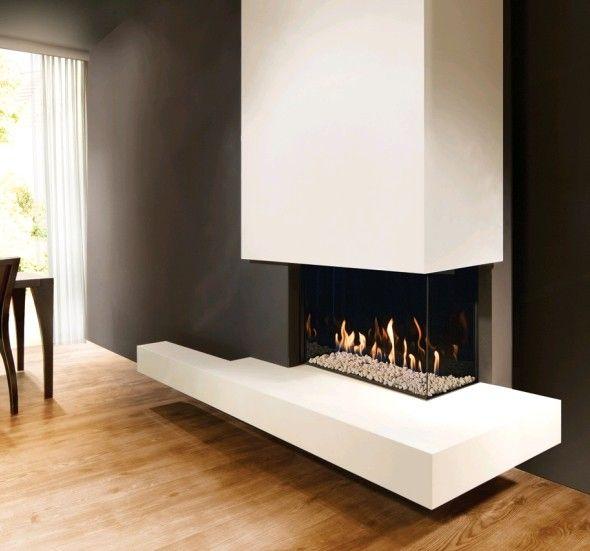 Kal-Fire Fairo ECO-line 65 Hoek #Kampen #Fireplace #Fireplaces #Interieur