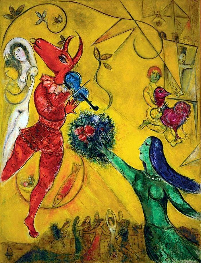 I Violini di Chagall | Tutt'Art@ | Pittura * Scultura * Poesia * Musica |