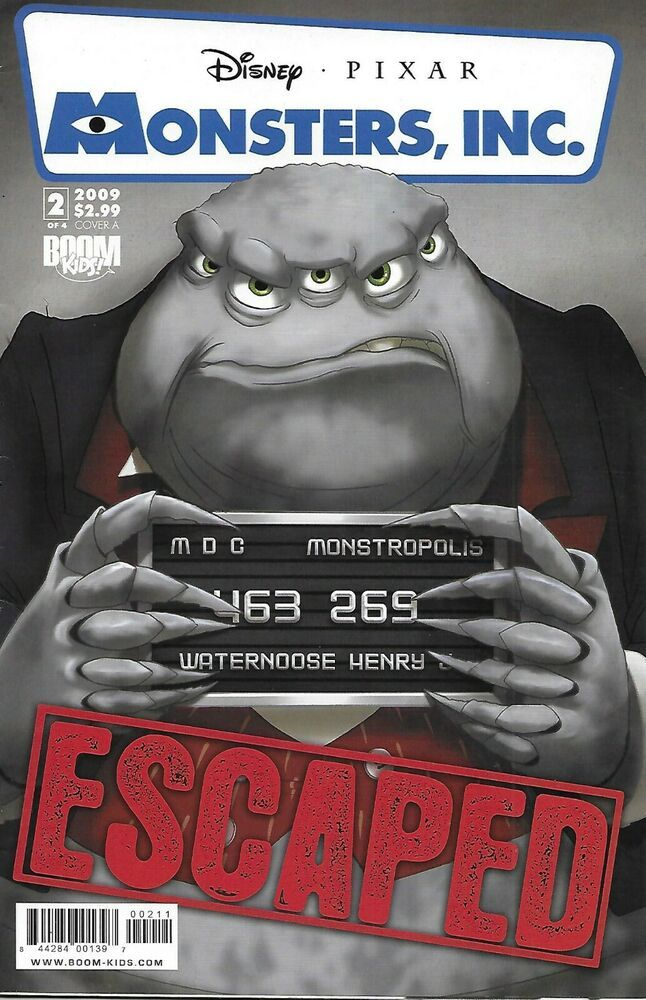 Disney Pixar Monsters Inc Comic Issue 2 Laugh Factory Modern Age First Print Laugh Factory Disney Pixar Pixar