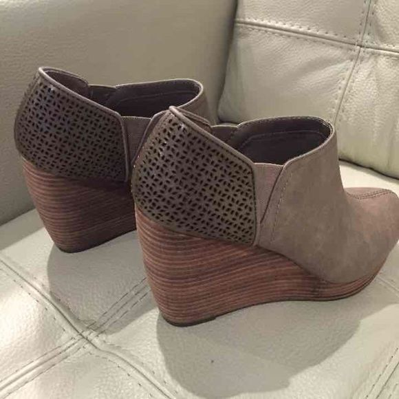Dr. Scholls wedges Wedge booties/ shoes Dr scholls Shoes Ankle Boots & Booties