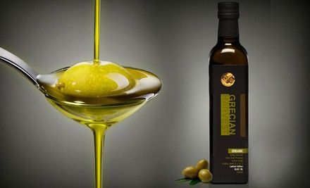 Groupon - One or Two 500 mL Bottles of Organic Olive Oil at Grecian Harvest (Up to 68% Off). Groupon deal price: $22.00