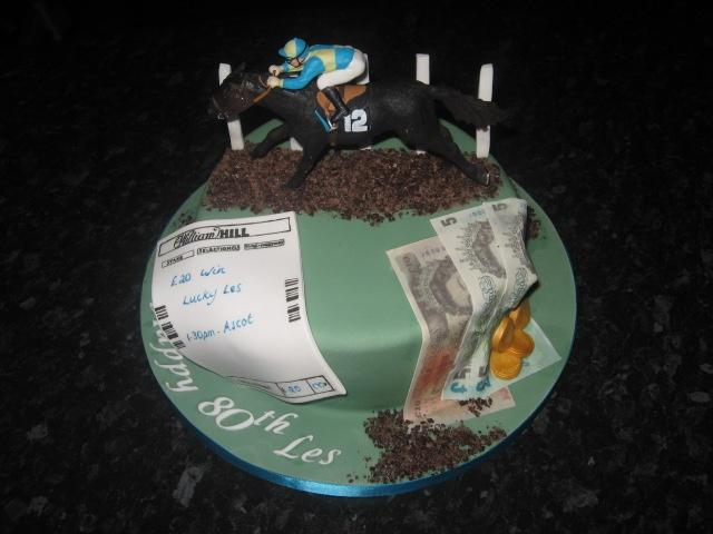 Horse Racing Betting Birthday Cake Cakes Cake