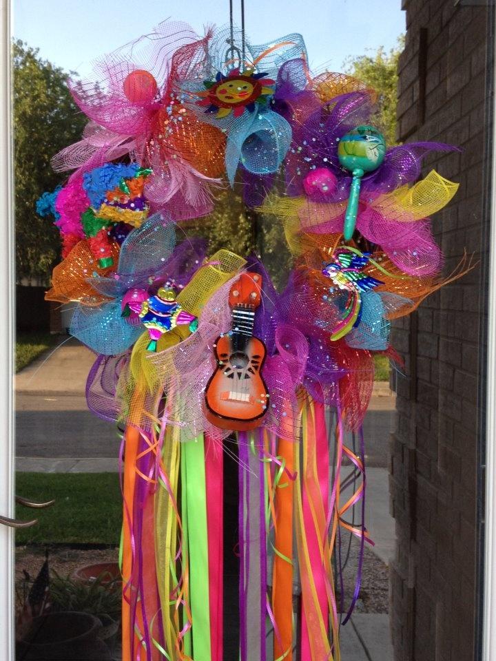 Fantastic 106 best Fiesta wreaths images on Pinterest | Mexican fiesta  UW55