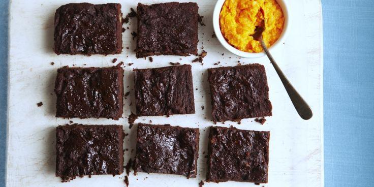 Brownies met maar twee ingrediënten. Makkelijker kan bijna niet.