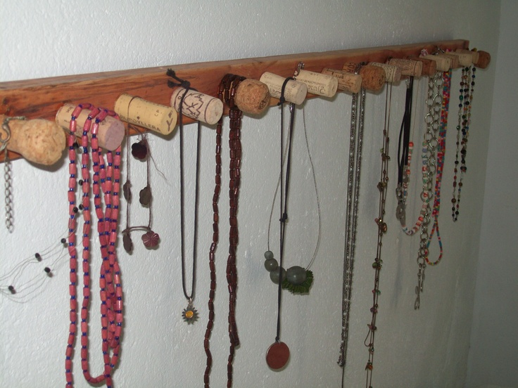 colgador para collares ideas pinterest