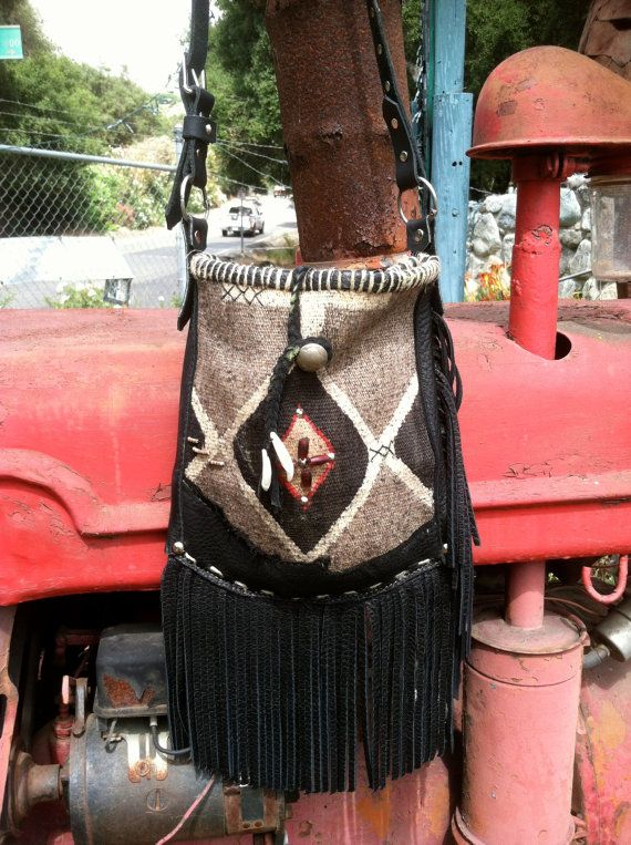 Cross body Navajo tote by ElsieRoseCollection on Etsy, $325.00
