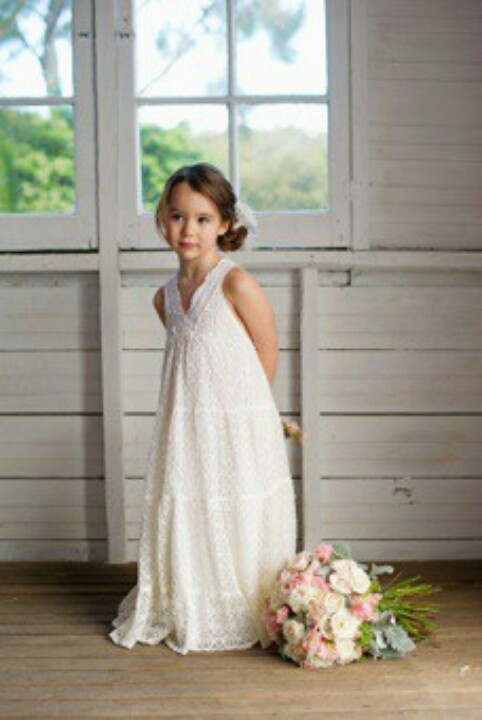 Vintage flower girl dress wedding pinterest wedding for Little flower girl wedding dresses